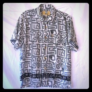 Other - Hawaiian Shirt - Coconut Pier by Top Image USA XL